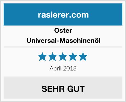 Oster Universal-Maschinenöl Test