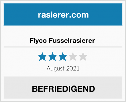 No Name Flyco Fusselrasierer  Test