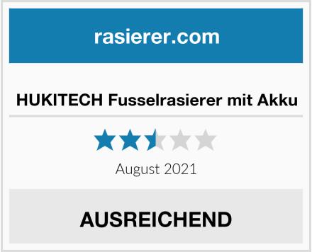 No Name HUKITECH Fusselrasierer mit Akku Test