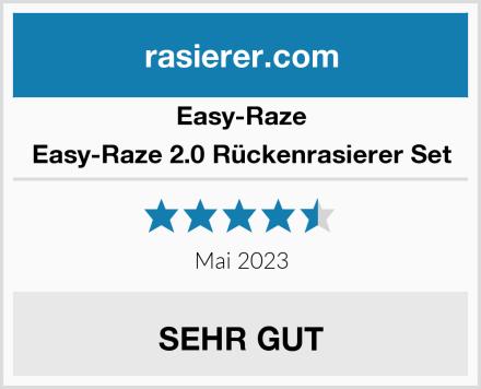 Easy-Raze Professioneller Rückenrasier Test