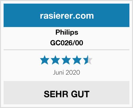 Philips GC026/00 Test