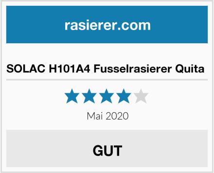 SOLAC H101A4 Fusselrasierer Quita  Test