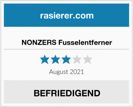 No Name NONZERS Fusselentferner Test