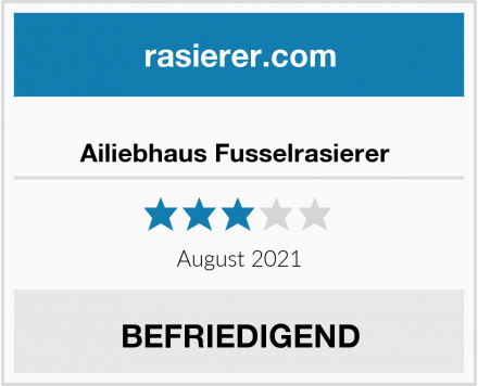 No Name Ailiebhaus Fusselrasierer  Test
