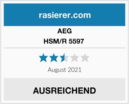 AEG HSM/R 5597  Test