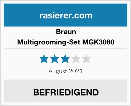 Braun Multigrooming-Set MGK3080 Test