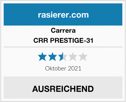 Carrera CRR PRESTIGE-31 Test