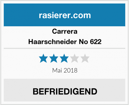 Carrera Haarschneider No 622 Test