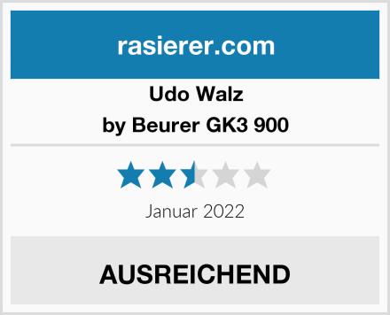 Udo Walz by Beurer GK3 900 Test