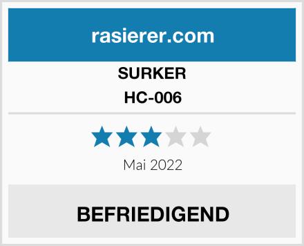 SURKER HC-006 Test
