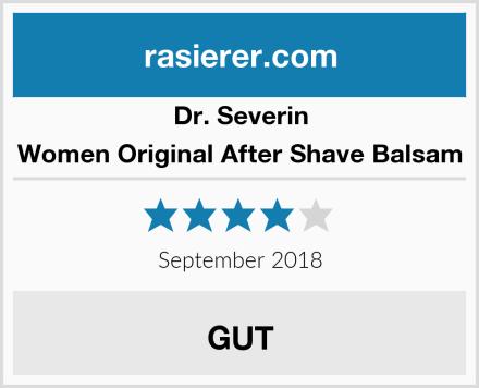 Dr. Severin Women Original After Shave Balsam Test