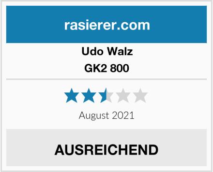Udo Walz GK2 800 Test