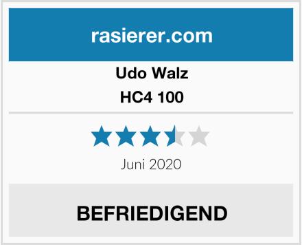 Udo Walz HC4 100 Test