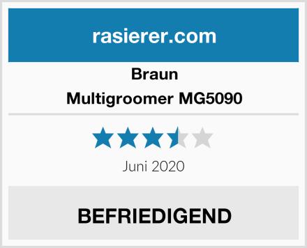 Braun Multigroomer MG5090 Test
