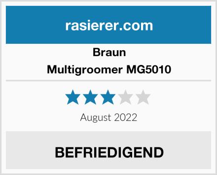 Braun Multigroomer MG5010 Test