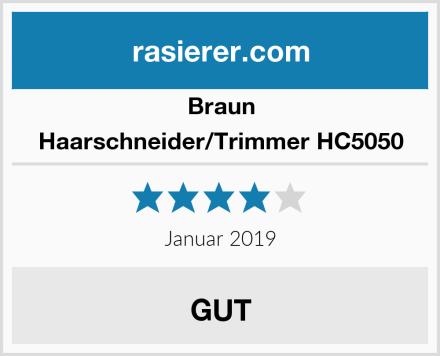 Braun Haarschneider/Trimmer HC5050 Test