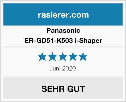 Panasonic ER-GD51-K503 i-Shaper Test