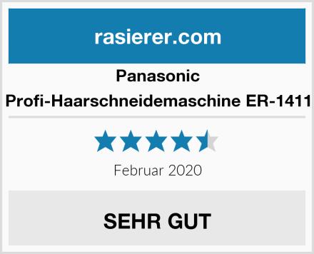 Panasonic Profi-Haarschneidemaschine ER-1411 Test