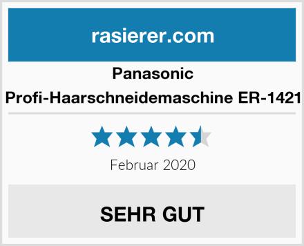 Panasonic Profi-Haarschneidemaschine ER-1421 Test
