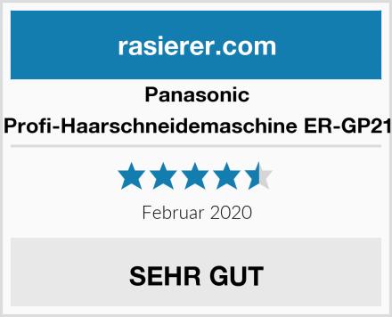 Panasonic Profi-Haarschneidemaschine ER-GP21 Test