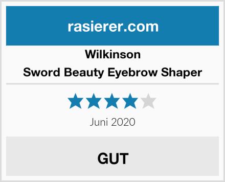 Wilkinson Sword Beauty Eyebrow Shaper Test