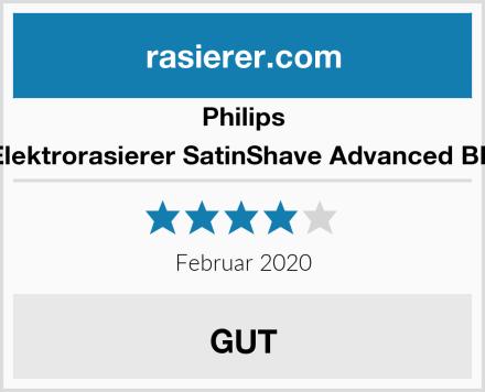 Philips Damen Elektrorasierer SatinShave Advanced BRL140/00 Test