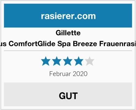 Gillette Venus ComfortGlide Spa Breeze Frauenrasierer Test