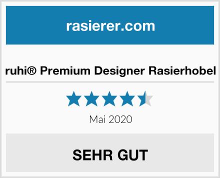 ruhi® Premium Designer Rasierhobel Test