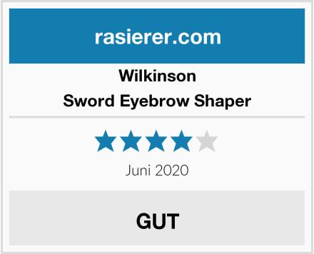 Wilkinson Sword Eyebrow Shaper Test