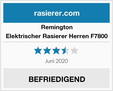 Remington Elektrischer Rasierer Herren F7800 Test