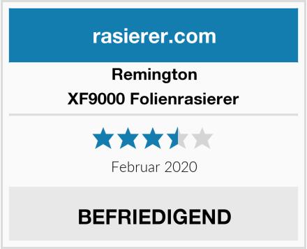 Remington XF9000 Folienrasierer Test