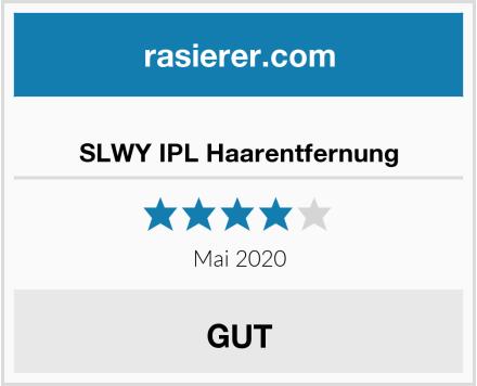 SLWY IPL Haarentfernung Test