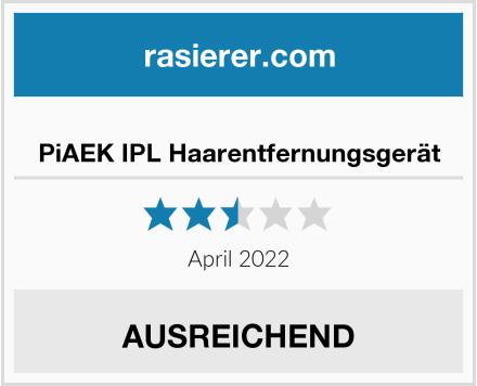 PiAEK IPL Haarentfernungsgerät Test