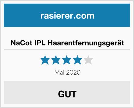NaCot IPL Haarentfernungsgerät Test