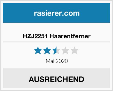 HZJ2251 Haarentferner Test