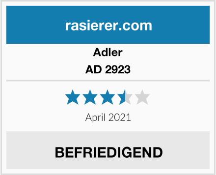 Adler AD 2923 Test