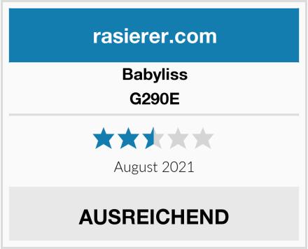 Babyliss G290E Test
