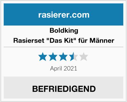 """Boldking Rasierset """"Das Kit"""" für Männer Test"""