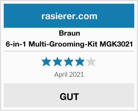 Braun 6-in-1 Multi-Grooming-Kit MGK3021 Test
