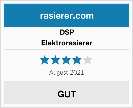 DSP Elektrorasierer Test