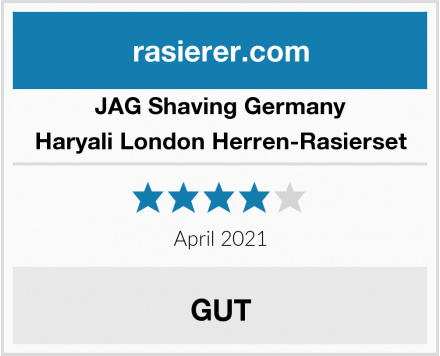 JAG Shaving Germany Haryali London Herren-Rasierset Test