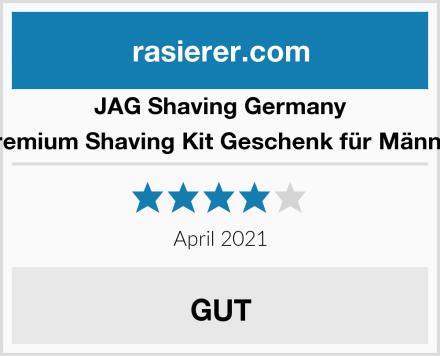 JAG Shaving Germany Premium Shaving Kit Geschenk für Männer Test