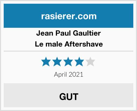 Jean Paul Gaultier Le male Aftershave Test