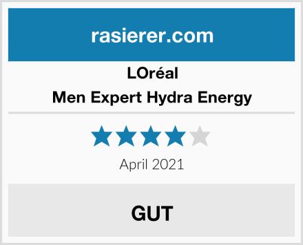 LOréal Men Expert Hydra Energy Test