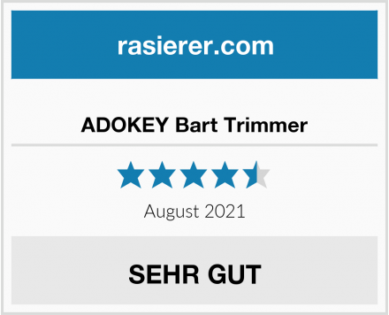 ADOKEY Bart Trimmer Test