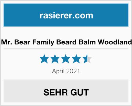 Mr. Bear Family Beard Balm Woodland Test