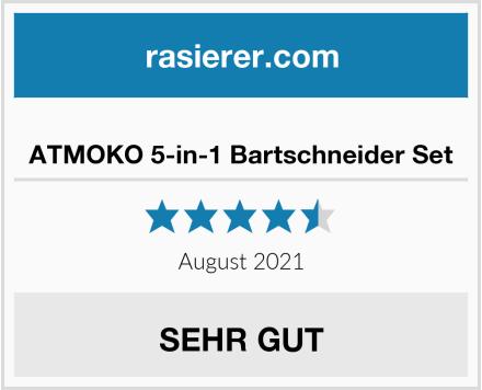 ATMOKO 5-in-1 Bartschneider Set Test