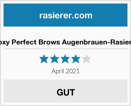 Roxy Perfect Brows Augenbrauen-Rasierer Test