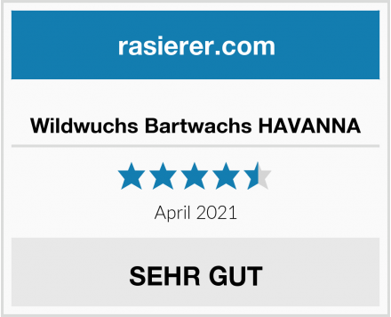 Wildwuchs Bartwachs HAVANNA Test