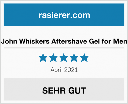 John Whiskers Aftershave Gel for Men Test